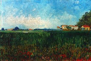 Van Gogh: Landscape, 1888 by Vincent van Gogh
