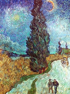 Van Gogh: Road, 1890 by Vincent van Gogh