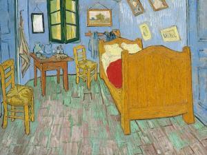 Van Gogh's Bedroom by Vincent Van Gogh by Vincent van Gogh