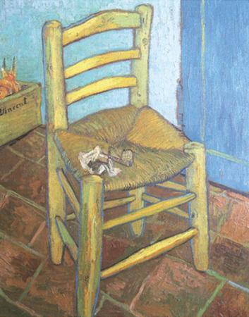 Van Gogh's Chair, 1888 by Vincent van Gogh
