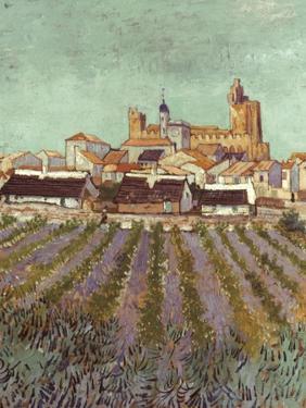 Van Gogh: Saintes-Maries. by Vincent van Gogh