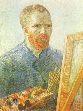 Van Gogh Self-Portrait, 1888 by Vincent van Gogh