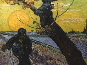 Van Gogh: Sower, 1888 by Vincent van Gogh