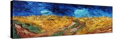 Van Gogh: Wheatfield, 1890 by Vincent van Gogh