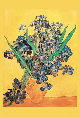 Vase Avec Irises by Vincent van Gogh