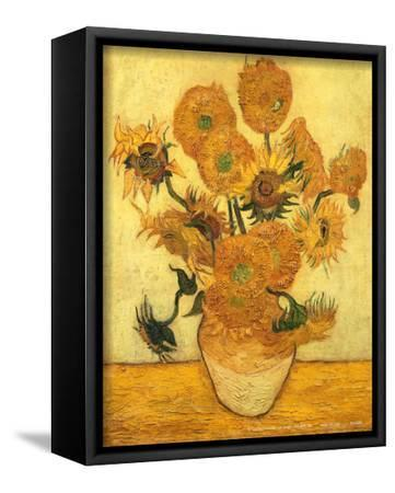 Vase of Fifteen Sunflowers, c.1889 by Vincent van Gogh