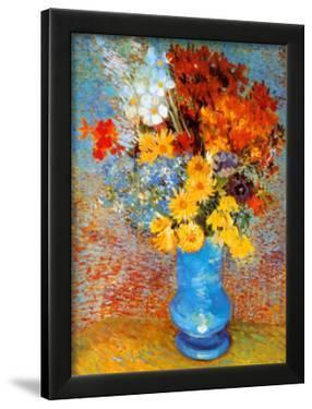 Vase of Flowers, c.1887 by Vincent van Gogh