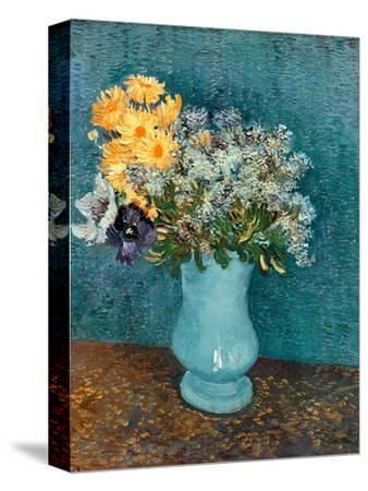 Vase of Lilacs, Daisies and Anemones, c.1887