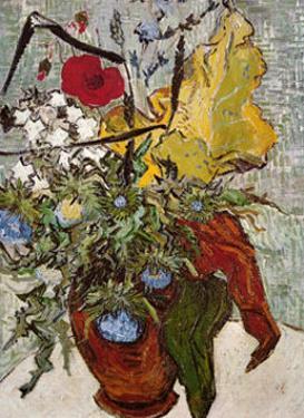 Vase of Poppies by Vincent van Gogh