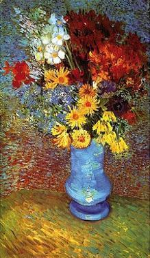 Vase With Anemone by Vincent van Gogh