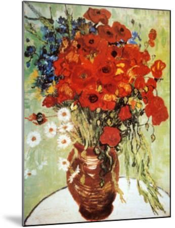 Vase with Daisies and Poppies by Vincent van Gogh