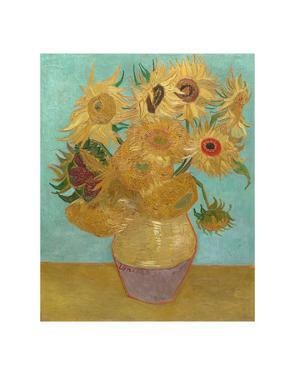 Vase with Twelve Sunflowers, 1889 by Vincent van Gogh