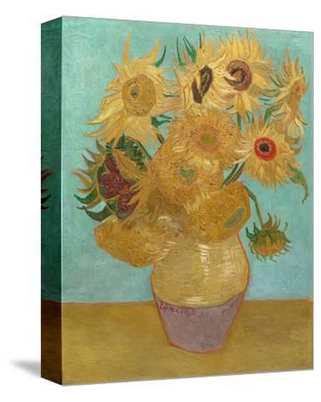 Vase with Twelve Sunflowers, 1889 by Vincent van Gogh
