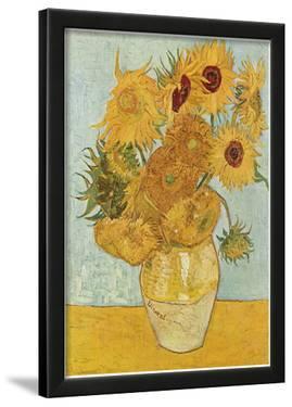 Vincent Van Gogh (Vase with Twelve Sunflowers) Art Poster Print