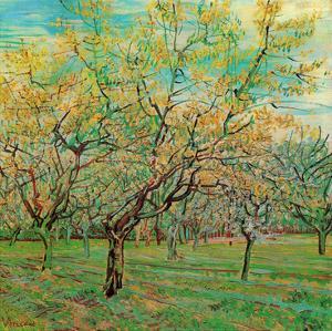 Verger avec pruniers en fleurs (Détail) by Vincent van Gogh