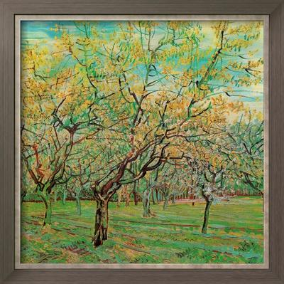 Verger Avec Pruniers En Fleurs by Vincent van Gogh