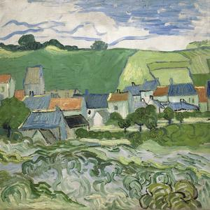 View of Auvers, 1890 by Vincent van Gogh