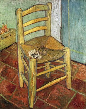 Vincent's Chair, 1888 by Vincent van Gogh
