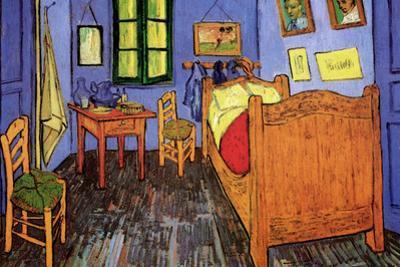 Vincent Van Gogh Bedroom by Vincent van Gogh