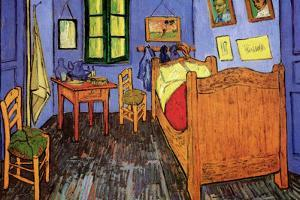 Vincent Van Gogh Bedroom by Vincent van Gogh