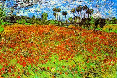 Vincent Van Gogh Poppy Fields by Vincent van Gogh