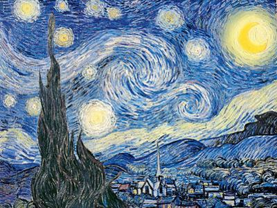 Vincent Van Gogh- Starry Night, c. 1889 by Vincent van Gogh