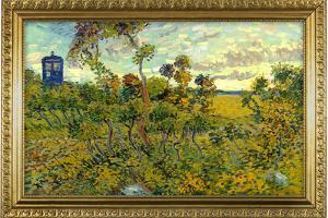 Vincent Van Gogh Tardis at Montmajour by Vincent van Gogh