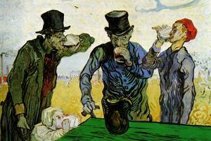 Vincent Van Gogh The Drinkers by Vincent van Gogh