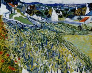 Vineyards at Auvers, c.1890 by Vincent van Gogh