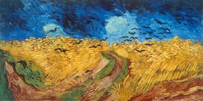 Weizenfeld mit Krähen, Auvers-sur-Oise by Vincent van Gogh