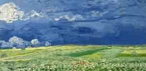 Wheatfield under Thunderclouds, 1890 by Vincent van Gogh