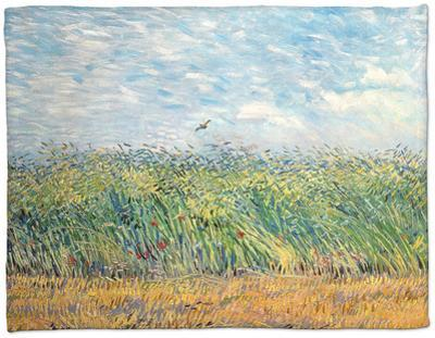 Wheatfield with Lark, 1887 by Vincent van Gogh