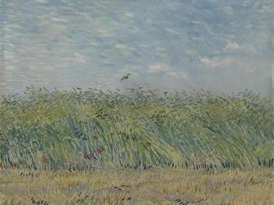 Wheatfield with Partridge, 1887