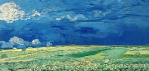 Wheatfields, 1890 by Vincent van Gogh