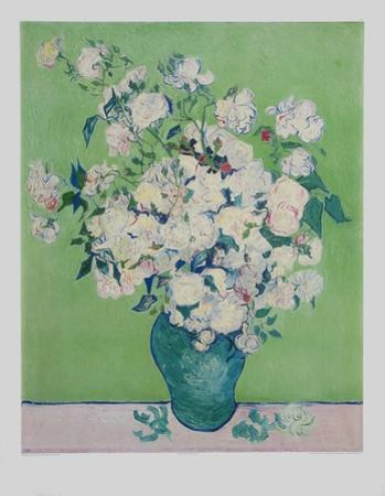 White Roses by Vincent van Gogh