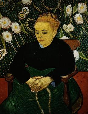 Woman Rocking a Cradle (Augustine Roulin) by Vincent van Gogh