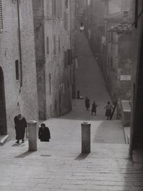 Ancient Street, Siena by Vincenzo Balocchi