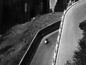 Vespa on a Street of Pitigliano by Vincenzo Balocchi