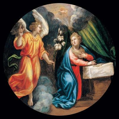 Mysteries of the Rosary, the Annunciation by Vincenzo Campi