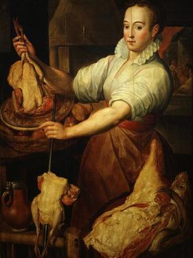 The Cook by Vincenzo Campi 1536-91 Italian by Vincenzo Campi