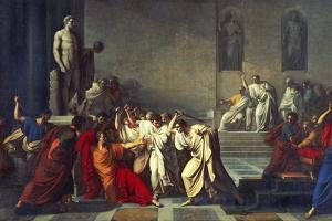 The Death of Julius Caesar, 1793-99 by Vincenzo Camuccini