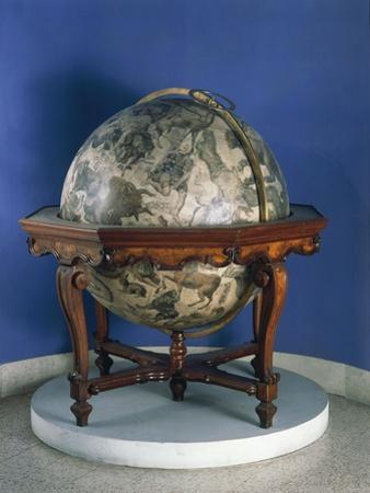 Celestial Globe, 1693