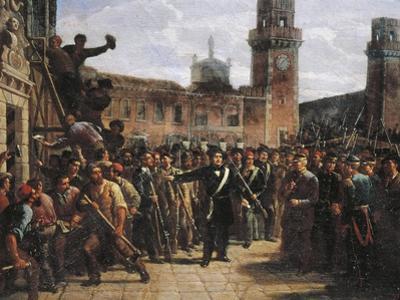 Daniele Manin Demands Austrian Surrender of the Venetian Arsenal, 1848
