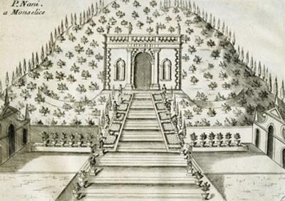 Garden at Villa Nani Mocenigo in Monselice, 1697