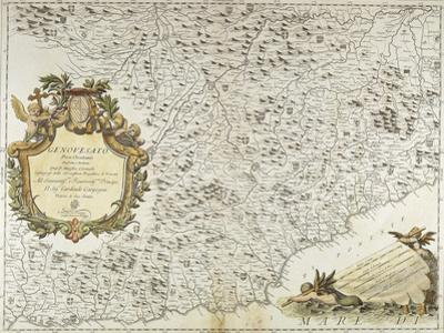 Map of Western Liguria Region