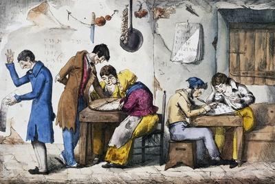 Kabbalists, 1832