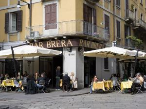 Brera District, Milan, Lombardy, Italy, Europe by Vincenzo Lombardo