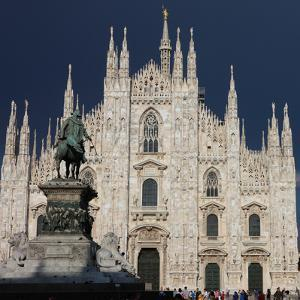 Duomo, Milan, Lombardy, Italy, Europe by Vincenzo Lombardo