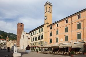 Duomo Square, Pietrasanta, Tuscany, Italy, Europe by Vincenzo Lombardo