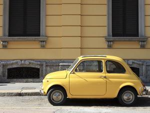 Old Car, Fiat 500, Italy, Europe by Vincenzo Lombardo